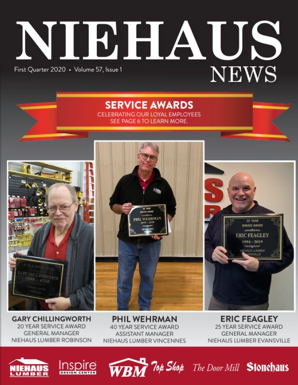 Niehaus News First Quarter 2020